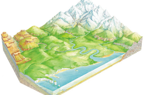 Рељеф и вода – провера знања