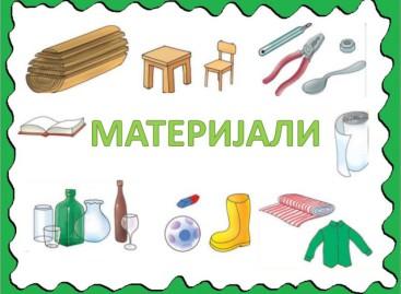 Материјали и кретање – провера