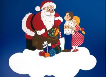 Деда Мраз и деца (ШАБЛОН)