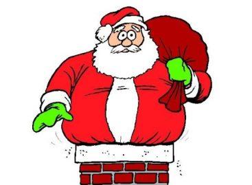 Деда Мраз – бојанка
