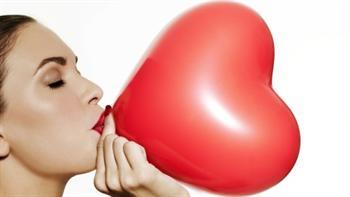 Zena-balon-srce
