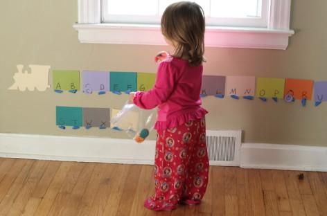 Како да дете научи слова на забаван начин