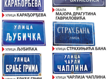 Грешке у називима улица – у говору и на таблама
