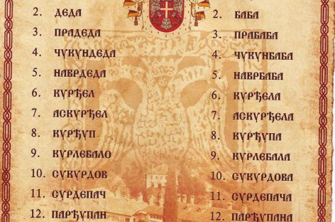 Како се на српском називају преци 16 колена уназад? Доносимо српски родослов