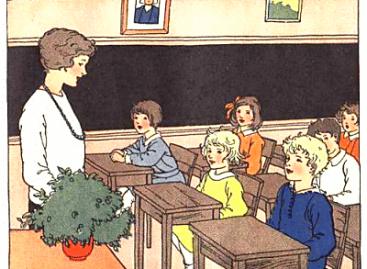 Клотфркет: Школа након пет месеци боловања