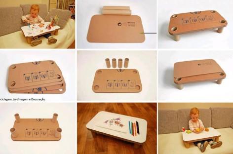 Napravite lako i jeftino – postolje za crtanje za decu
