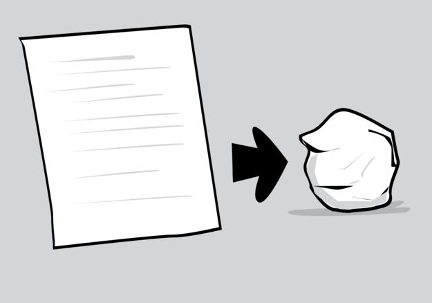 zguzvan papir
