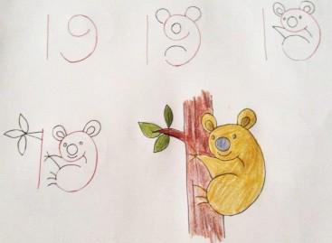 Učite brojeve dok crtate ili obrnuto