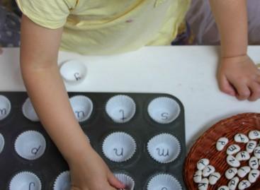 Учење азбуке уз помоћ пасуља