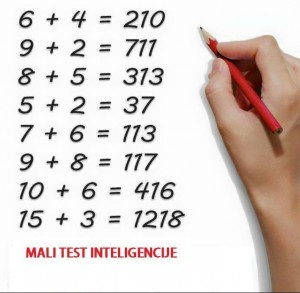 mali test inteligencije