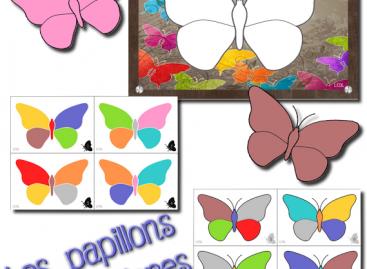 Игра шарених лептира – ШАБЛОН