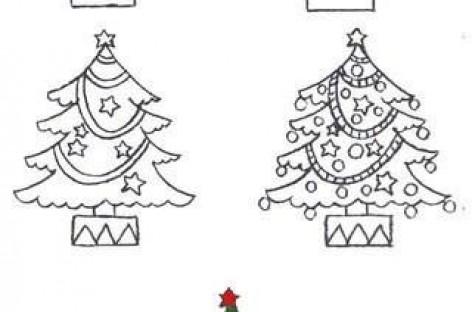 Нова година : Како нацртати…