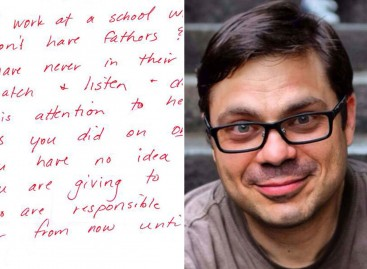 Kako je poruka jedne učiteljice promenila jednog tatu