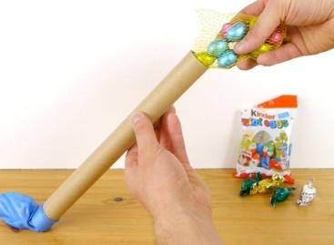 Идеално за децу: Васкршње јаје пуњено слаткишима  (ВИДЕО)