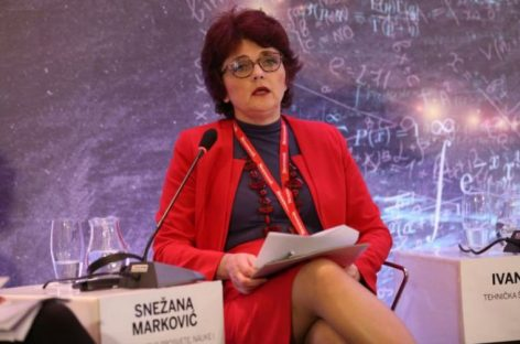 """Снежана Марковић: """"Зар заиста мислите да нам треба ММФ да схватимо колико су дигиталне компетенције данашњем ученику важне?"""""""