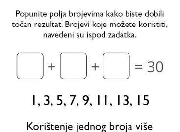 Možete li da rešite zadatak?