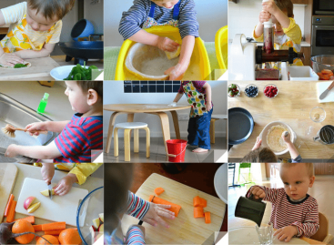 Кућни послови за децу према узрасту по Монтесори таблици