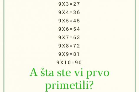 Matematička lekcija jednog učitelja o životu