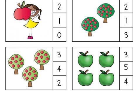 Учимо бројеве – заокружи тачан број