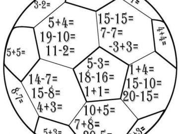 Vežbamo matematiku na zabavan način – nastavni listići