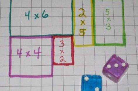 Matematička igra – učimo da množimo