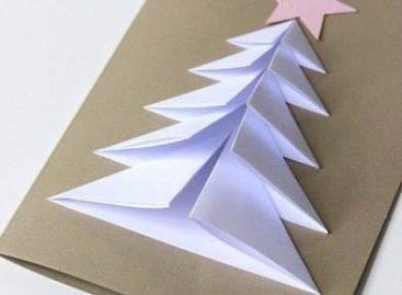 Јелка од папира