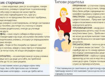 Одељењске старешине нагласиле проблем незаинтересованости родитеља