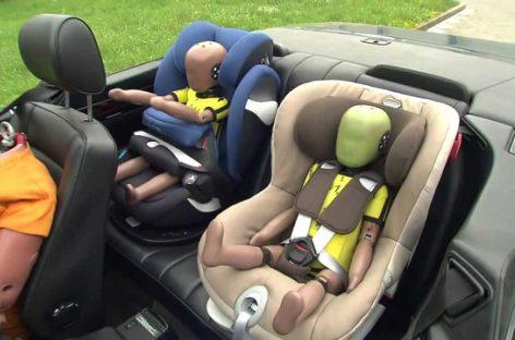 Nemački testovi: Koja su najbolja auto-sedišta za decu?