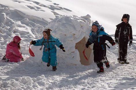 Igre na snegu koje su korisne za razvoj govora