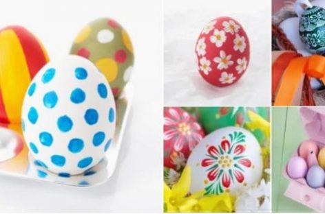 Trik za farbanje jaja penom za brijanje