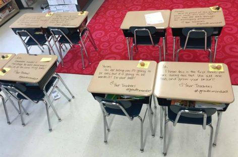 Прочитајте штa је учитељица написала свим ученицима на дан испита