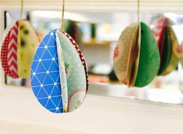 Како направити 3D папирно ускршње јаје (ВИДЕО)