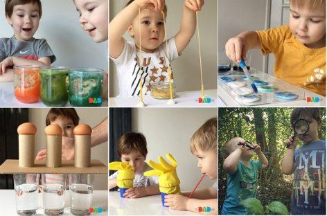 Сензорна игра има важну улогу у развоју детета, зато вам нудимо 12 предлога