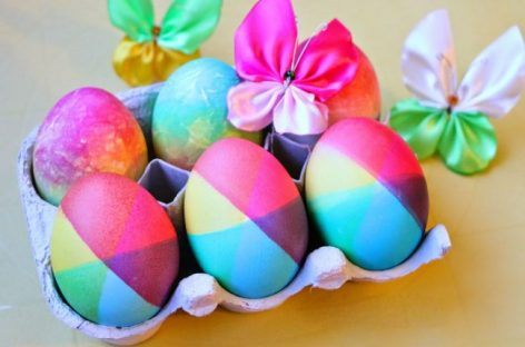 Kако офарбати јаја у дугине боје: 2 оригинална начина