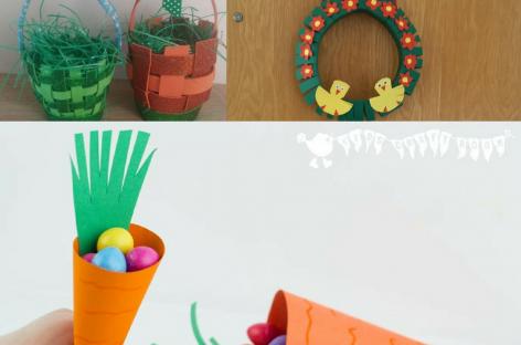 Uskrs – 3 nove ideje za brzu dekoraciju (ŠABLON)