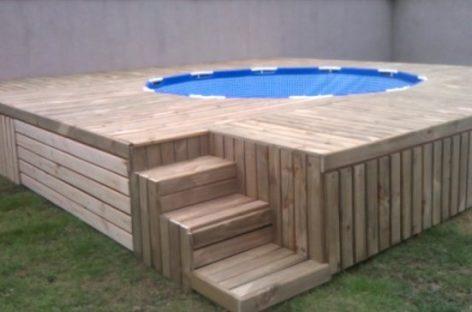 Тата испунио жељу деци: Хтели базен, направио им генијалну ствар!