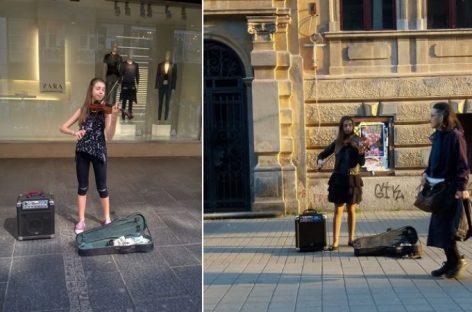 """""""Ja ne prosim, ja sam na koncertu"""" Mlada violinistkinja ima prelep razlog zašto po ceo dan svira u Knezu"""