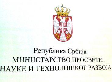 Смењен помоћник министра просвете за инспекцијске послове