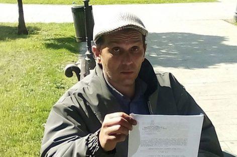 Profesor koji je štrajkovao glađu prevezen u Urgentni centar