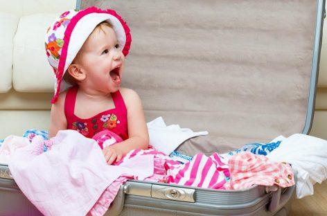 Једини списак ствари потребних за путовање са бебом који ће вам требати