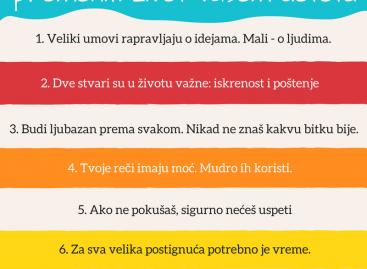 6 реченица које могу променити живот вашем детету