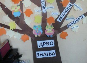 Језички кутак – дрво знања