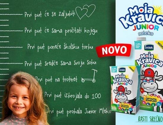 Јединствено млеко на тржишту обогаћено Оптивита комплексом за раст и развој деце