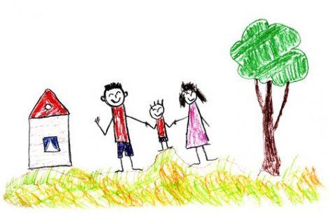 Цртеж куће симболише однос са мајком, а цртеж сунца однос са оцем