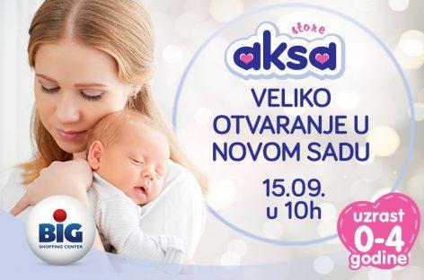 Još jedna Aksa stiže u Novi Sad! Spremite se za zabavu i popuste!