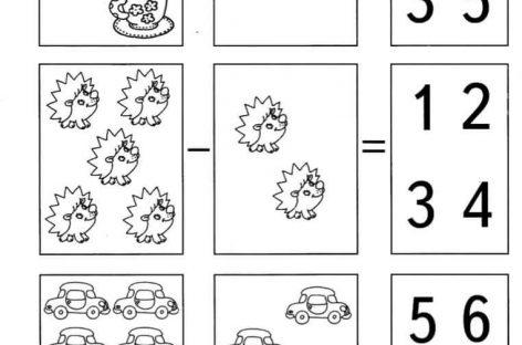 Matematika za predškolce i učenike prvog razreda