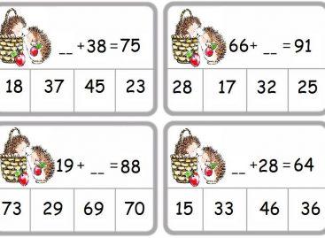 Сабирање двоцифрених бројева (тестови за други разред)