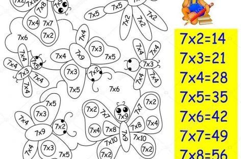 Tablica množenja uz zabavu i igru