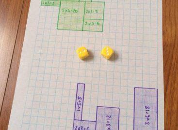 Игра за децу помоћу које ће деца учити таблицу множења  и лепо се забавити