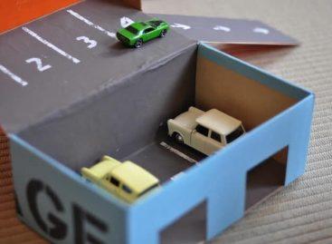 Картонска кутија боља за развој детета него било која друга играчка